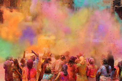 Teaching What Is Holi, the Hindu Festival of Colors?