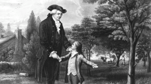 Teaching George Washington and His Hatchet