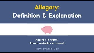 Teaching Allegory: Definition + examples [video]