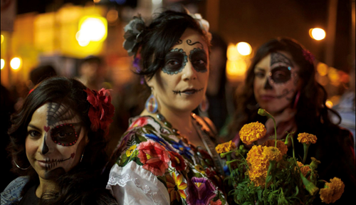 Teaching Day of the Dead: From Aztec goddess worship to modern Mexican celebration