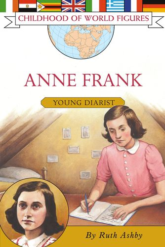 CHILDHOOD OF WORLD FIGURES ANNE FRANK YOUNG DIARIST