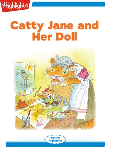 Catty Jane and Her Doll
