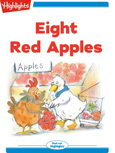 Eight Red Apples