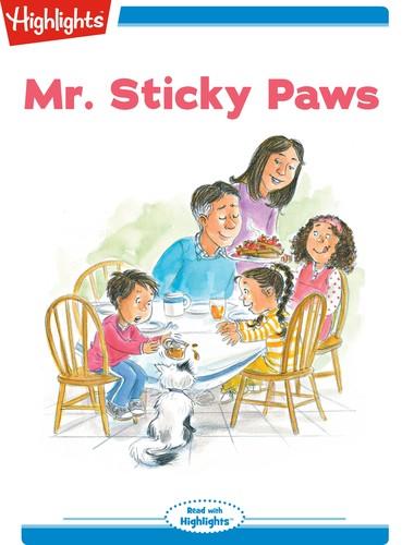 Mr. Sticky Paws