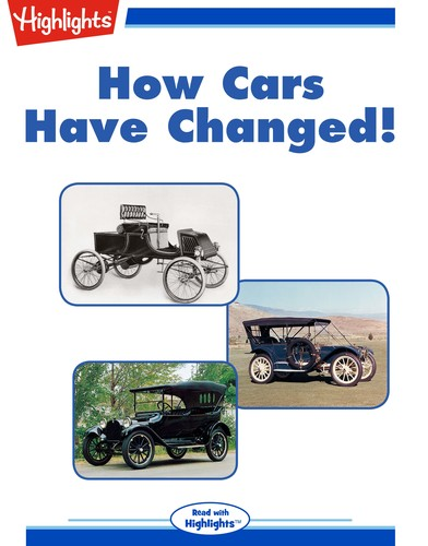 How Cars Have Changed!