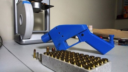 Teaching Release of 3D-printed gun plans blocked