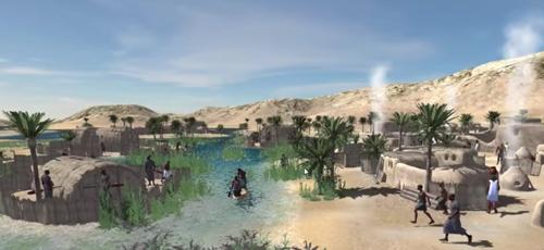 Ancient Mesopotamia Virtual Reality Simulation [video]