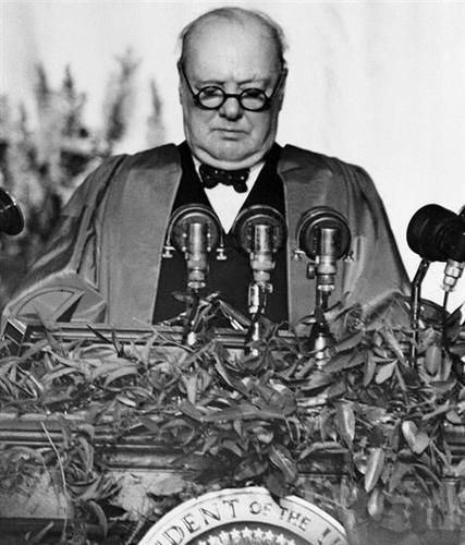 'Iron Curtain Speech', March 5, 1946
