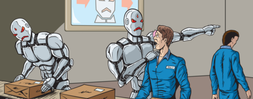 Are robots taking our jobs?