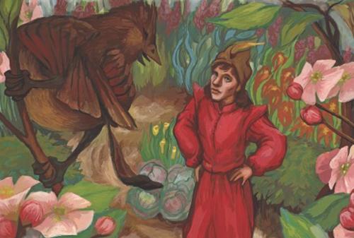 Teaching The Wisdom Bird: A Legend from Poland