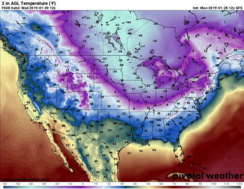 Teaching How frigid polar vortex blasts are connected to global warming