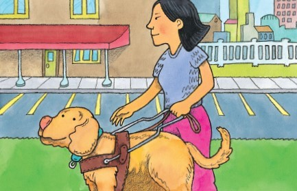 Teaching Jessie, the Guide Dog