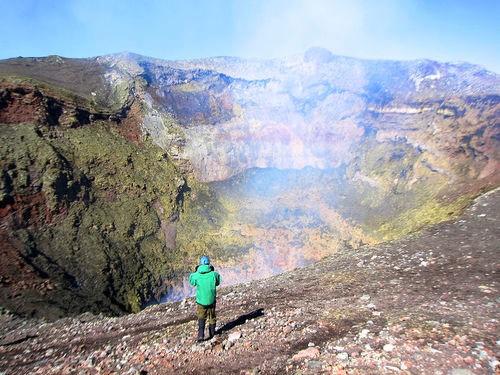 Teaching Predicting volcanic eruptions