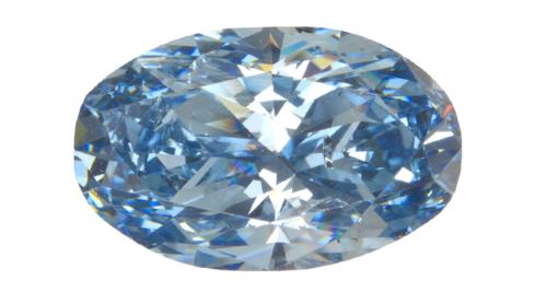Teaching Rare blue diamonds form deep, deep, deep inside Earth