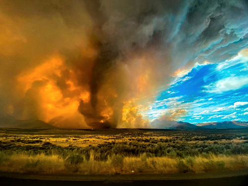 Teaching Extreme Wildfires Can Create Fire Tornadoes—Here's How