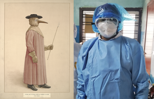 Teaching Bubonic plague diary shows striking similarities to today's pandemic