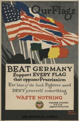 Anti-German fervor