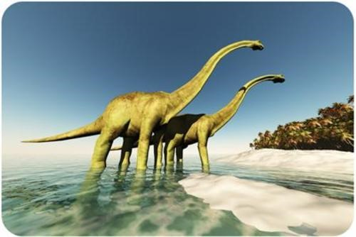 Teaching Mesozoic era - the age of dinosaurs