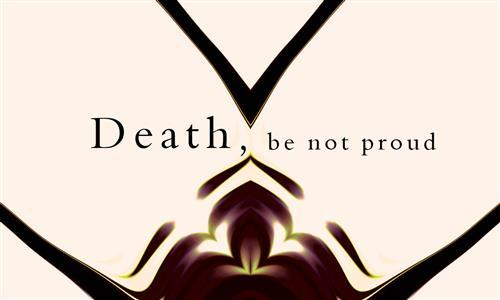 Teaching Death Be Not Proud