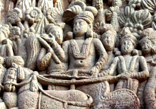 Teaching Ashoka, great Indian emperor