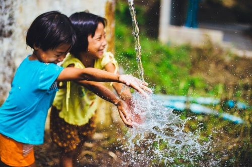Teaching Humans and the water supply