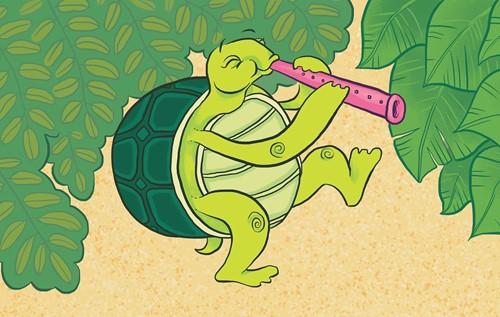 Teaching The Dancing Turtle: A Brazilian Folktale