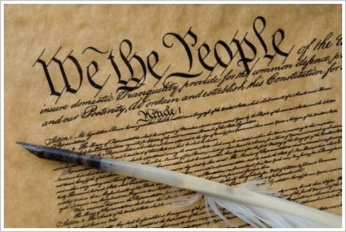 Preamble and the First Amendment to the United States Constitution