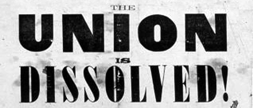 Secession of the South