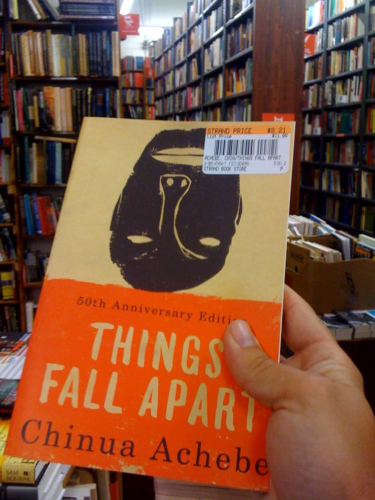 Teaching Things Fall Apart: Chinua Achebe and the languages of African literature