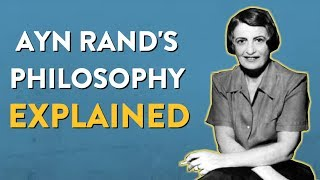 Teaching Ayn Rand - Her philosophy in two minutes [video]
