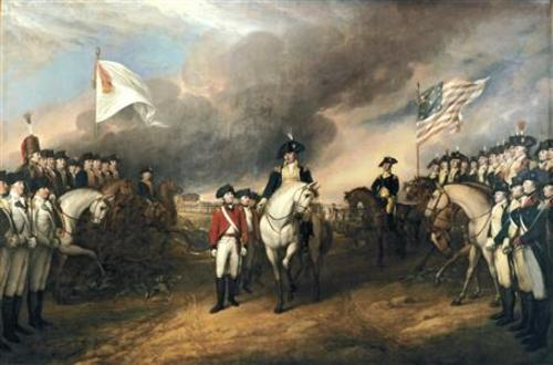 Surrender At Yorktown