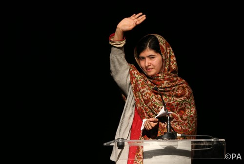 Nobel Peace Prize: extraordinary Malala a powerful role model