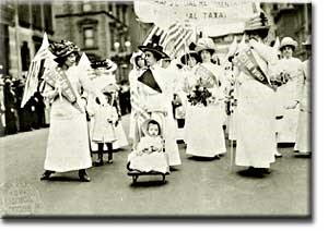 Women's suffrage at last