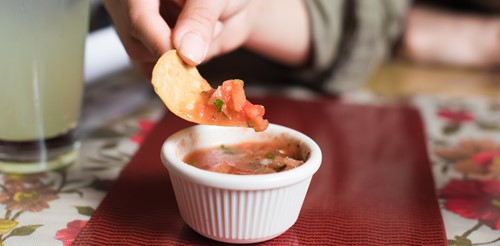 Is double-dipping a food safety problem or just a nasty habit?