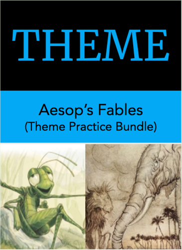 Teaching Theme Practice Bundle: Aesop's Fables