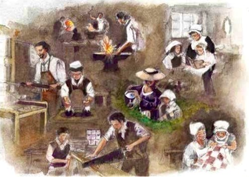 Teaching Meet the Colonists