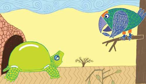 Teaching The Flying Tortoise: A Nigerian Folktale