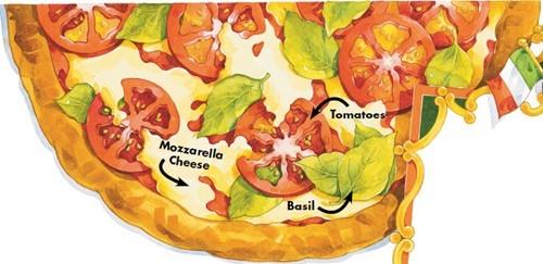 Teaching Patriotic pizza