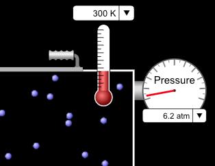 Teaching Gas pressure [PhET Simulation]