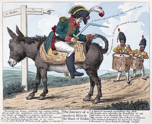 Napoleon's exile and return to power