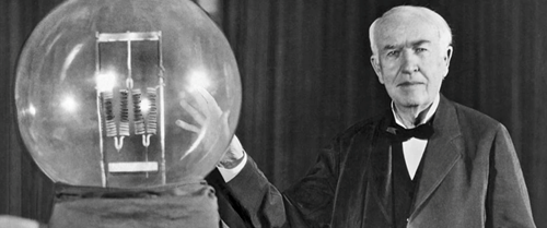 Teaching Solving problems and designing solutions: Thomas A. Edison