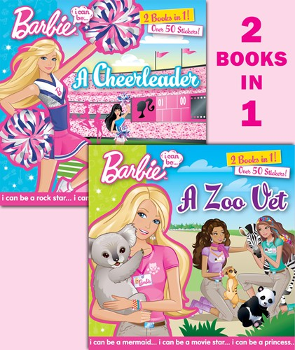 I Can Be … A Zoo Vet/I Can Be … A Cheerleader (Barbie)