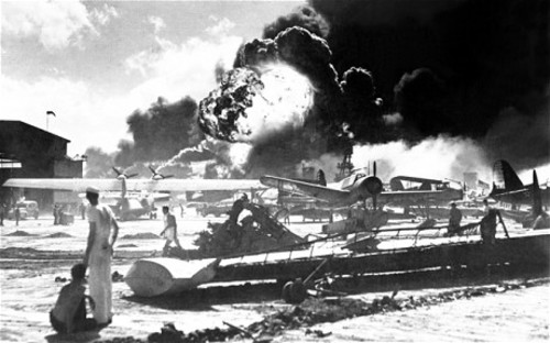 Tragedy At Pearl Harbor