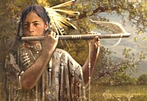 Teaching The First Flute: A Native American Legend