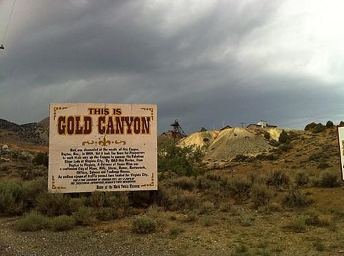 Teaching Mining in Gold Canyon
