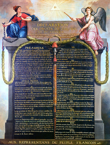 Declaration of the Rights of Man and of the Citizen (1789)