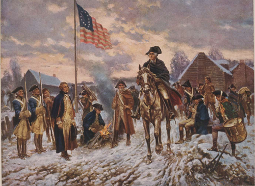 Teaching Valley Forge