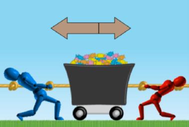 Teaching Balanced and unbalanced forces [PhET Simulation]